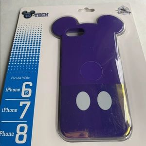 Mickey Mouse IPHONE 8 7 6s purple case